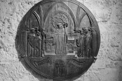 Holzrelief Sanctus Stephanus